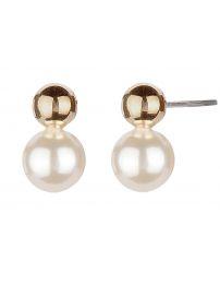 Osira Pierced Earrings Gold...