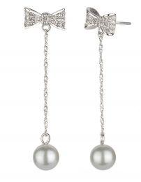 Osira Drop Earrings Bow &...